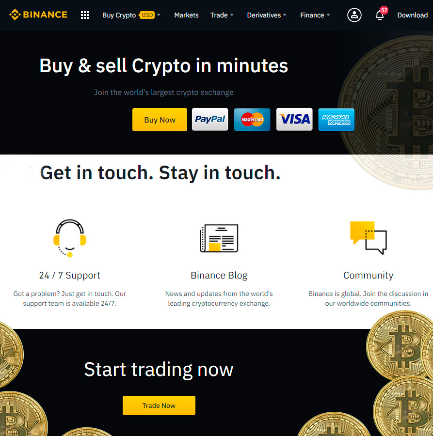 Best cryptocurrency Bitcoin trading Binance platform australia